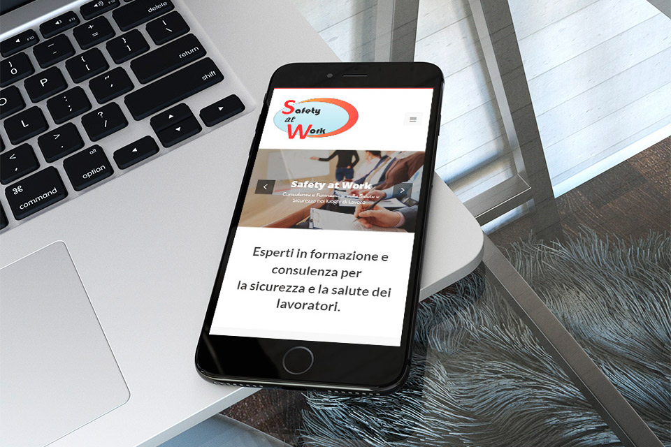 smartphone sito web associazione safety at work