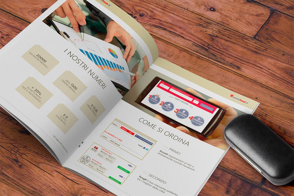 brochure social food