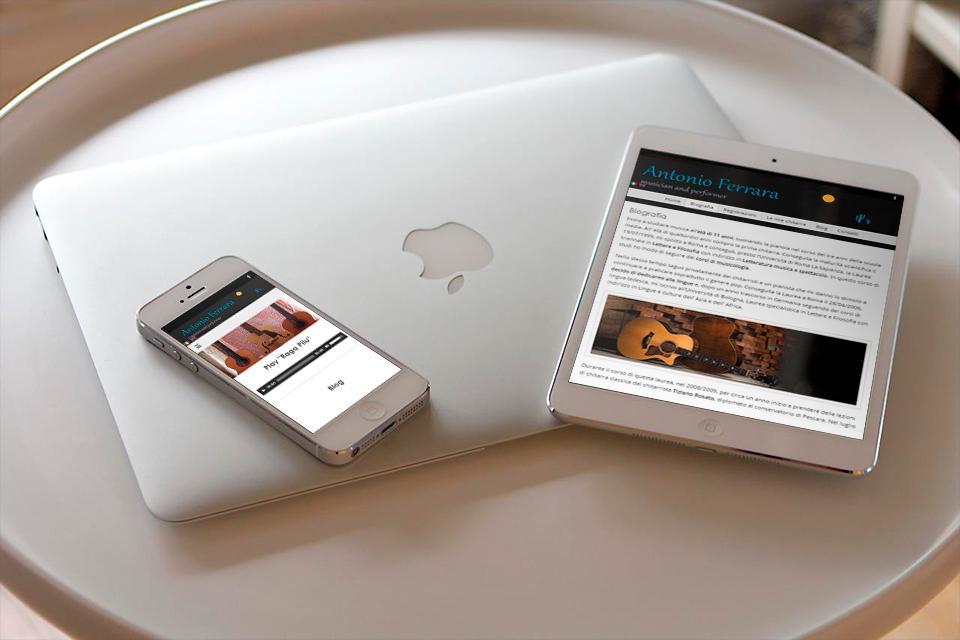smartphone e tablet sito web antonio ferrara