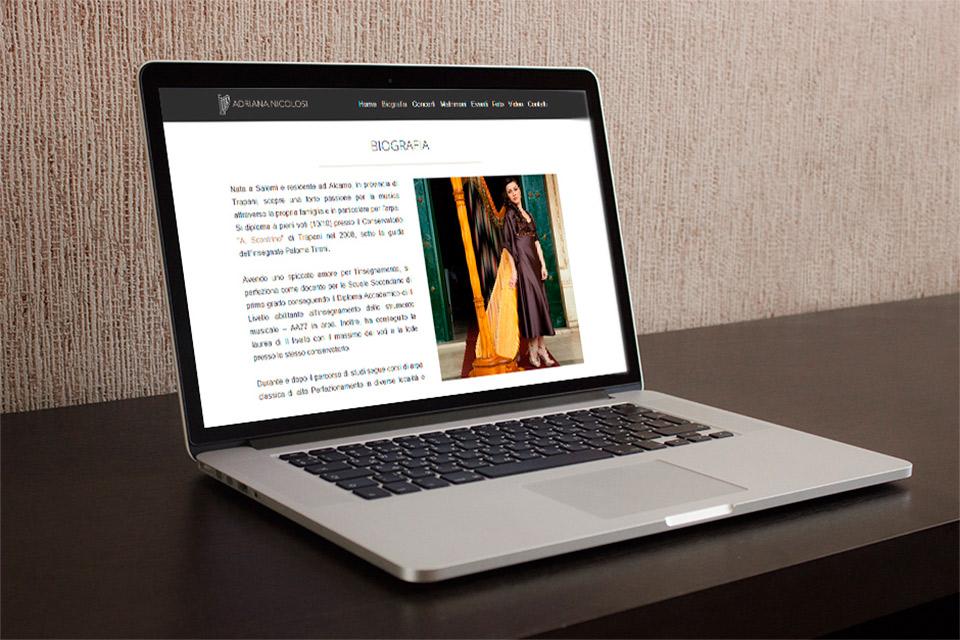 mac sito web adriana nicolosi