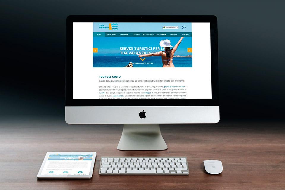 imac sito web tour del golfo