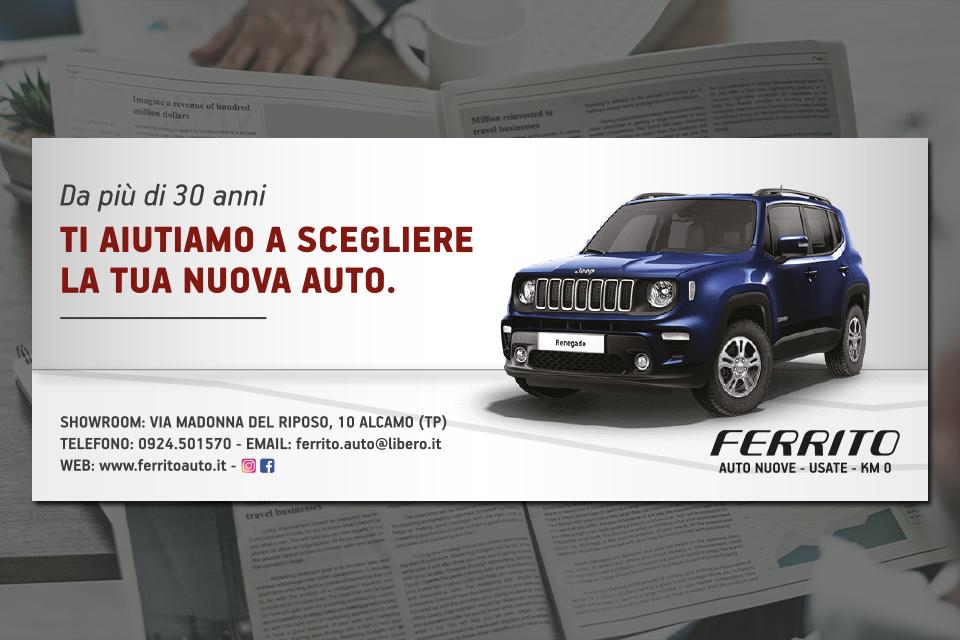 Ferrito Auto - GDS 31,6 x 12,8 - 2