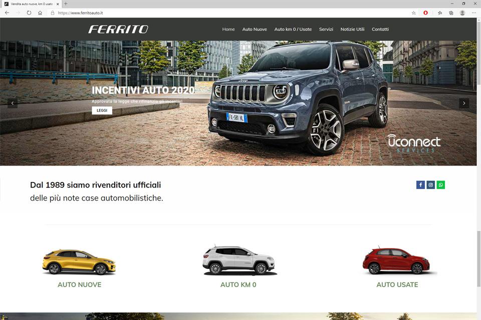 Ferrito Auto web 1